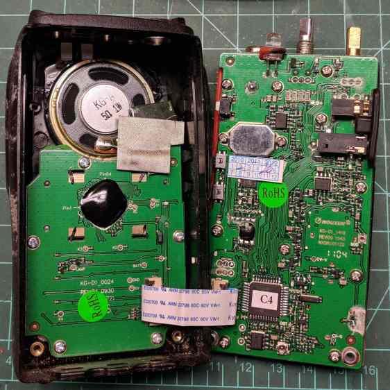 Wouxun KG-UV3D - interior
