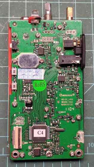 Wouxun KG-UV3D - PCB overview