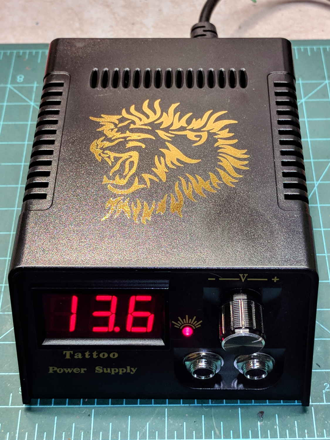 Low budget bench supply digital version the smell of for Power supply for tattoo