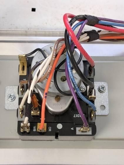 Kenmore dryer - timer wiring