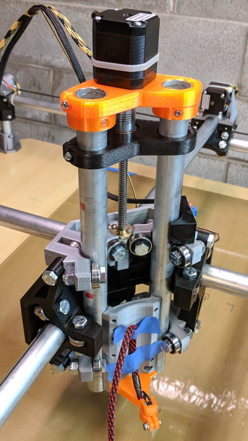 MPCNC: Reinforced Z-axis Motor Mount | The Smell of Molten Projects