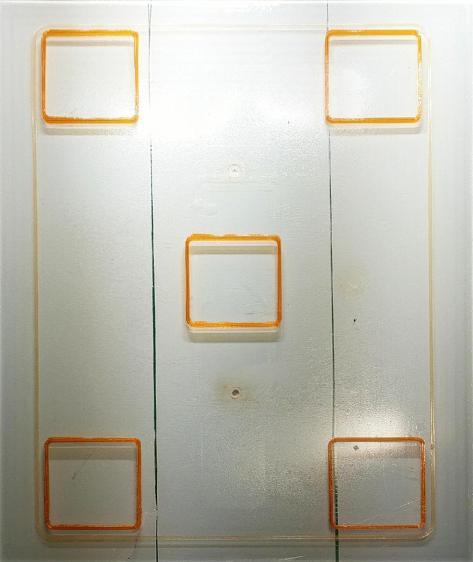 Calibration Squares - rectified