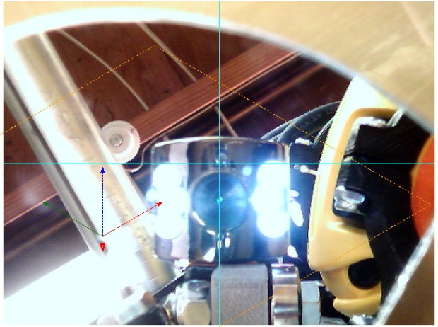 bCNC - Camera - Mirror Alignment - first mount