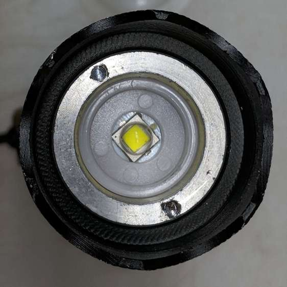 J5-V2 Flashlight - LED view