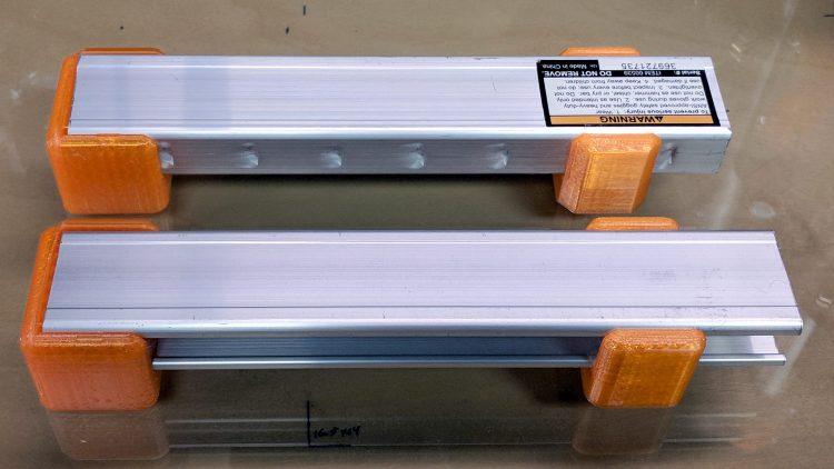 MPCNC - reprinted bar clamp mounts