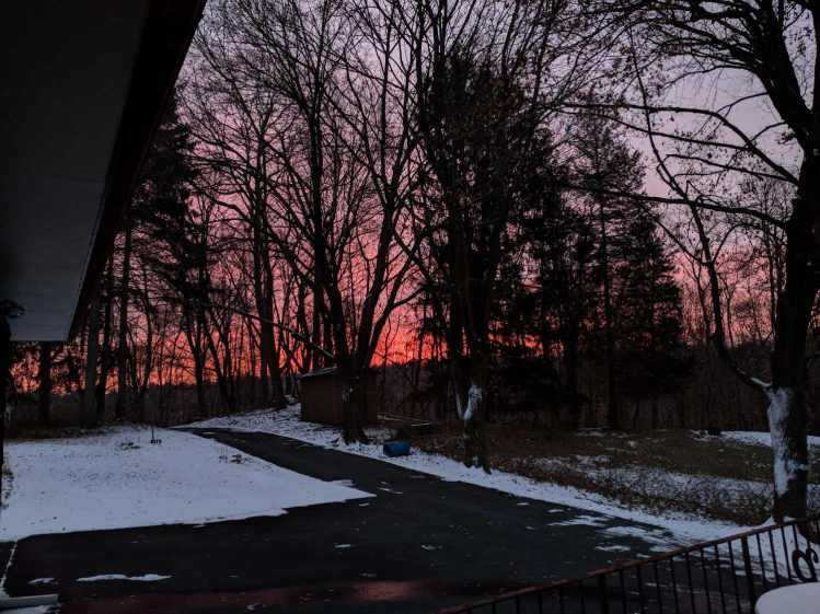 Red Sky in the Morning - 2018-02-07