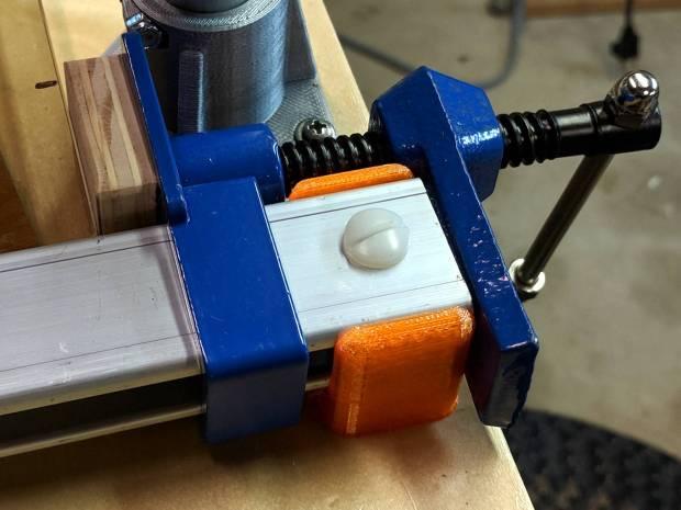 MPCNC - bar clamp mount