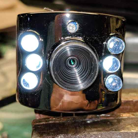 USB Camera - front with brightness pot