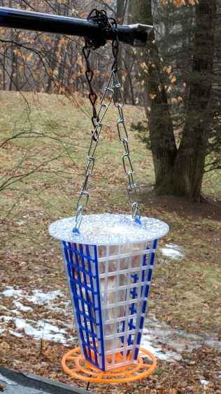 3D printed suet feeder