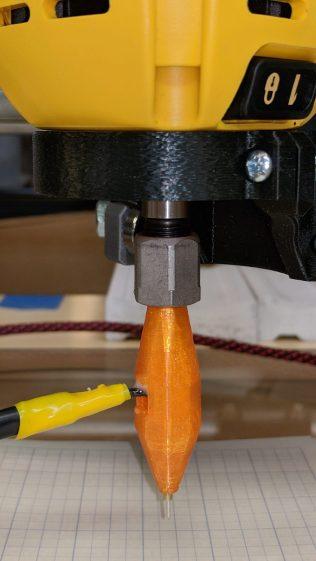 MPCNC - Z probe - DW660 - 0.25 collet
