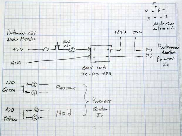 GRBL Control button wiring - sketch