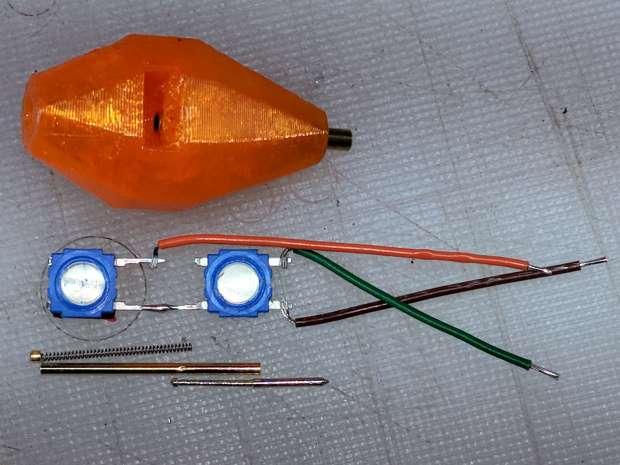 MPCNC - Simple Z probe - pogo tactile switch
