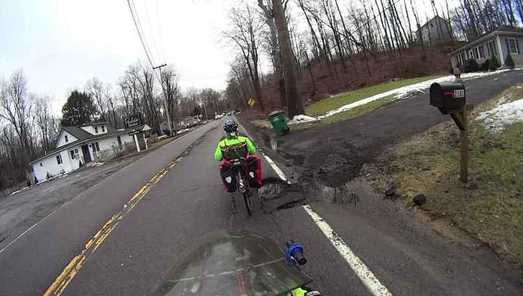 Rt 376 SB deterioration - at 2181 driveway - 2018-02-20
