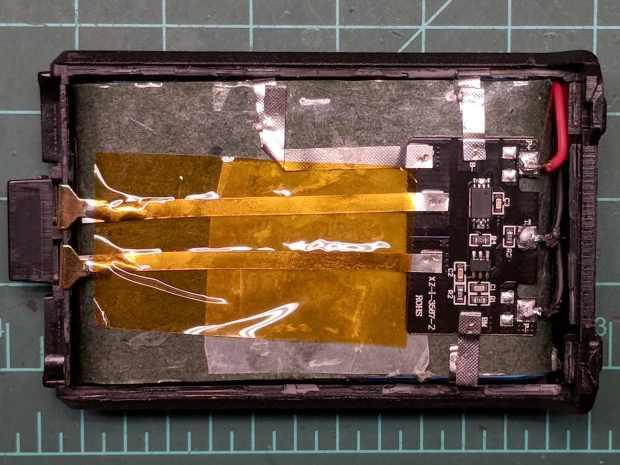 Baofeng BL-5 battery rebuild