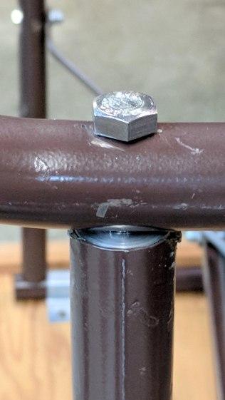 Bench Leg - repaired