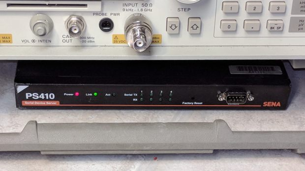 Sena PS410 Serial Server - in action