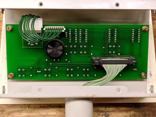 Brother BAS-311 Control Head - interior