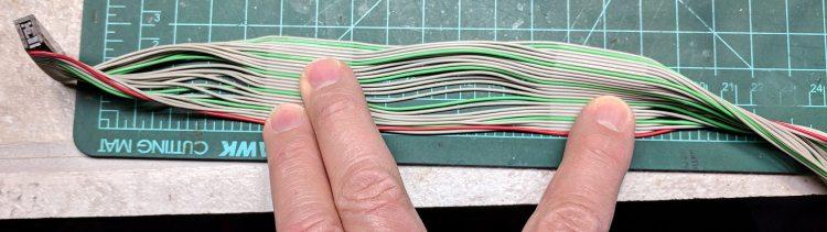 Segmented ribbon cable