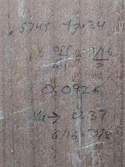 Wood shop calculations