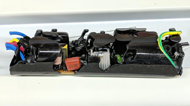 Electronic ballast - interior B