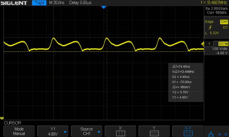 K1003 Channel Element - 13.4 MHz output - 1k bias