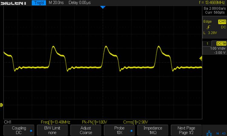 K1003 Channel Element - 470 ohm bias - 13.4 MHz output