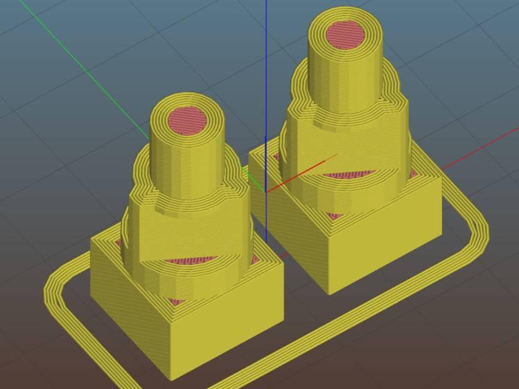 Propane QD Adapter Tool - Slic3r