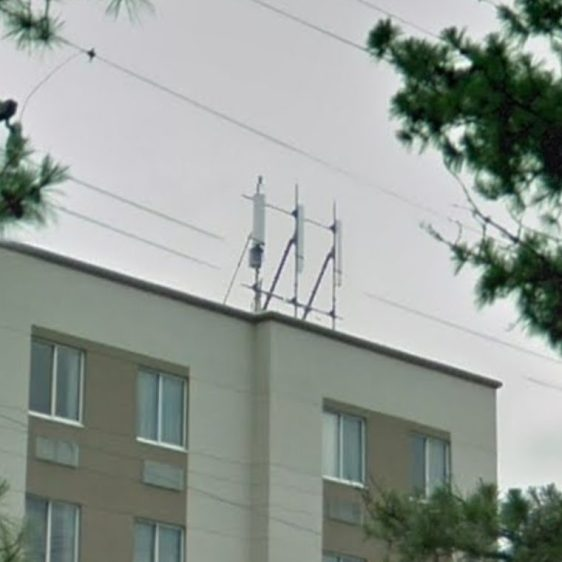 Hampton Inn - RF Controlled Area - cell sector antennas