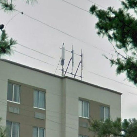 Hampton Inn - RF Controlled Area - cell sector antennas