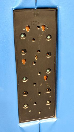 Payphone mounting plate