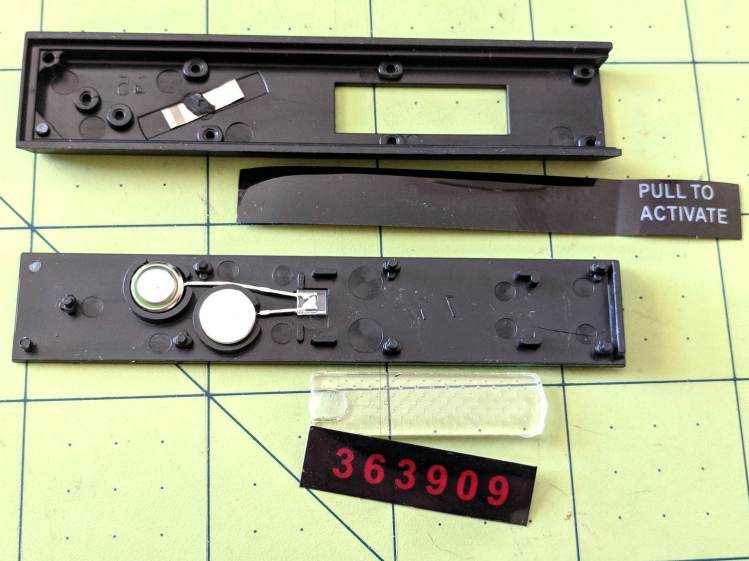 TCU 100 - Auto-VIN Gauge - components