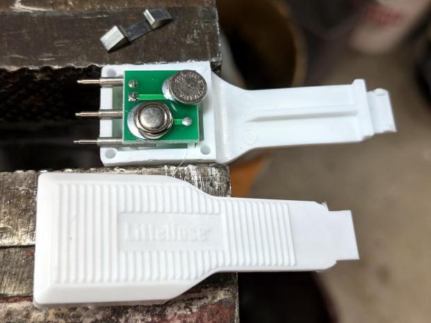 Littelfuse Mini Auto Fuse Puller-tester - as opened