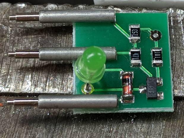 Littelfuse Mini Auto Fuse Puller-tester - circuitry