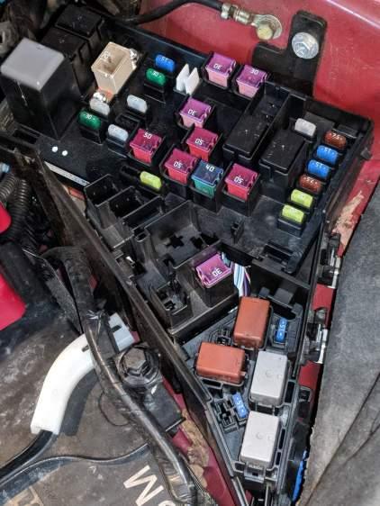 2015 Subaru Forester - engine compartment fuse box