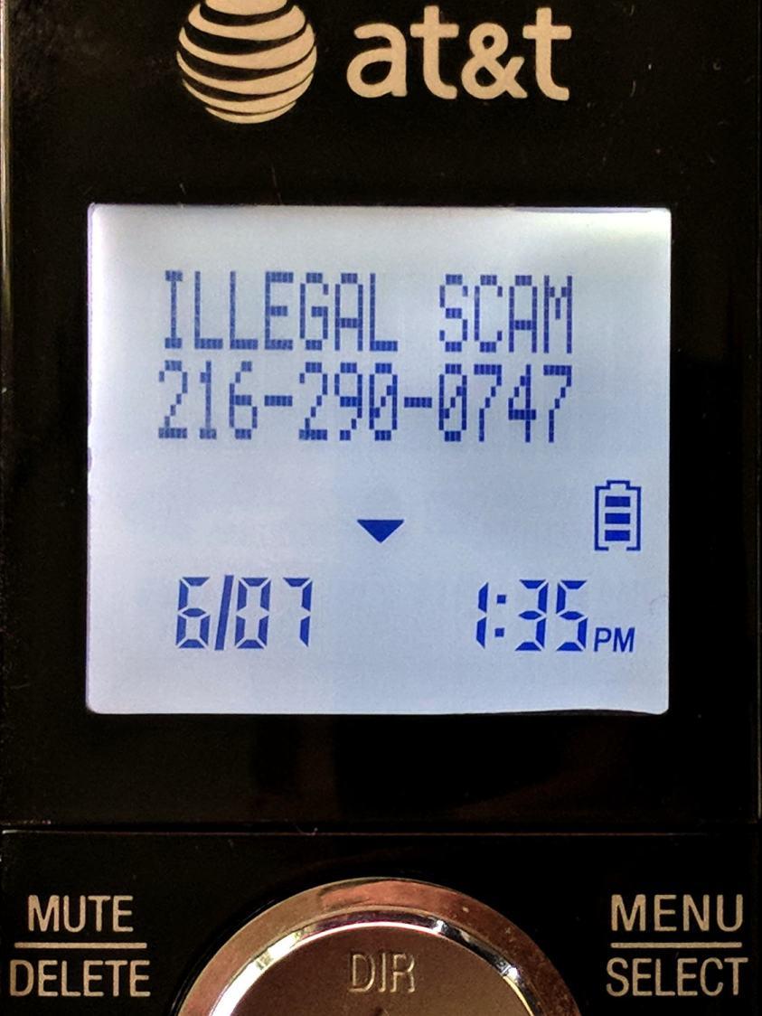 Illegal Scam CallerID