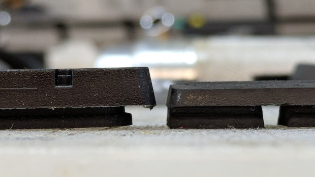 Bike brake pad wear
