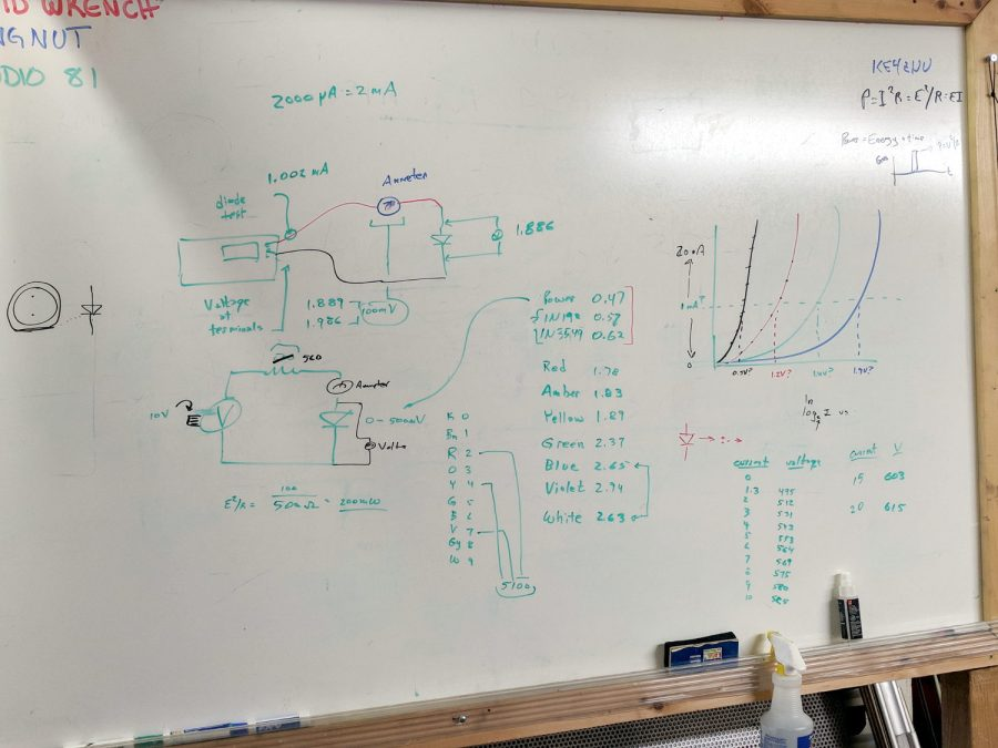Whiteboard - Session 3 - Diode current vs forward drop