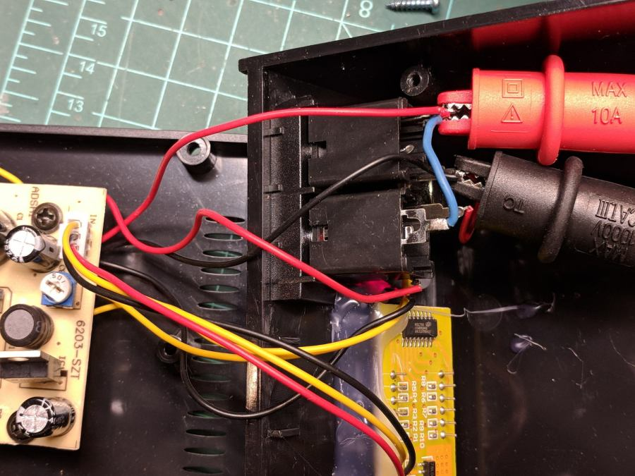Tattoo Digital Power Supply - jack wiring