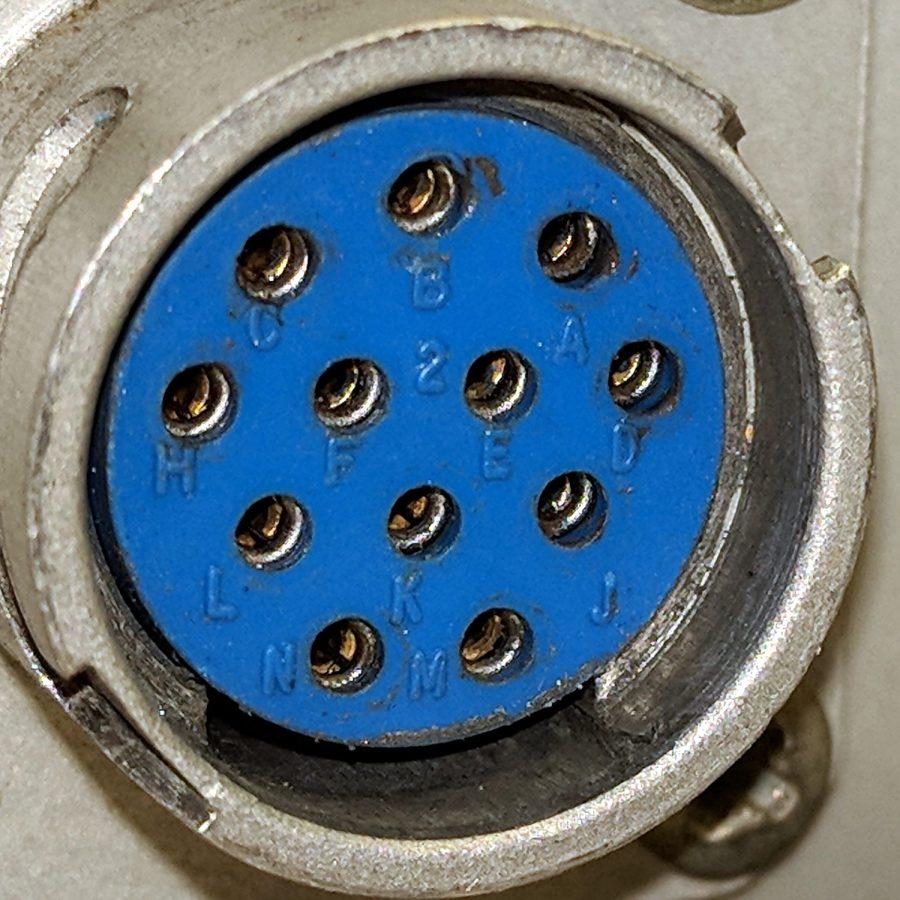 Tek AM503 Amplifier - Probe Connector - pin ID