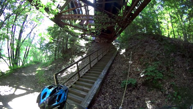 Belmar Bridge Stairs - Overview