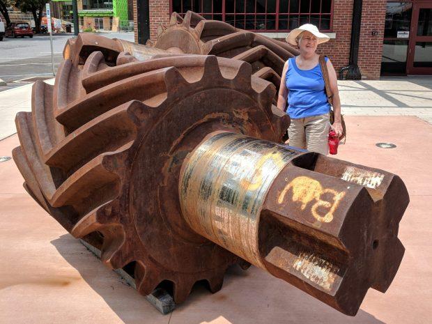 Bethlehem Steel - 48 inch rolling mill gears