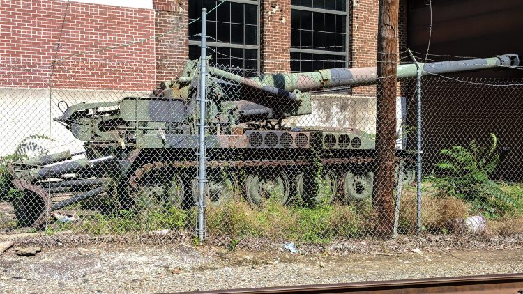 M110A2 203mm Self-Propelled Howitzer - York PA