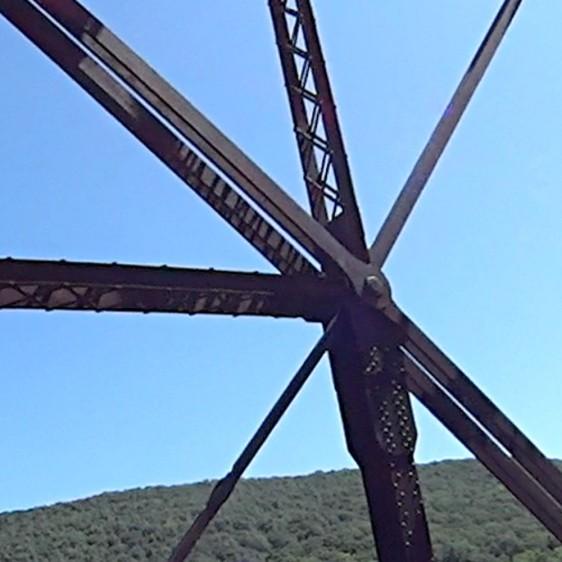 Belmar Bridge - Ironwork - bolt detail