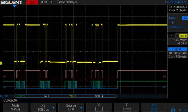 BNO055 - Clock-stretched I2C transaction
