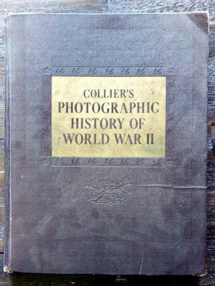 Colliers Photographic History of World War II - cover