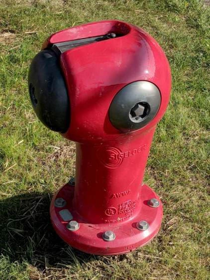 Sigelock Spartan fire hydrant - Franklin PA
