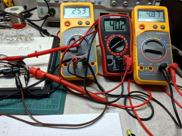 Session 4 - transistor measurement meters