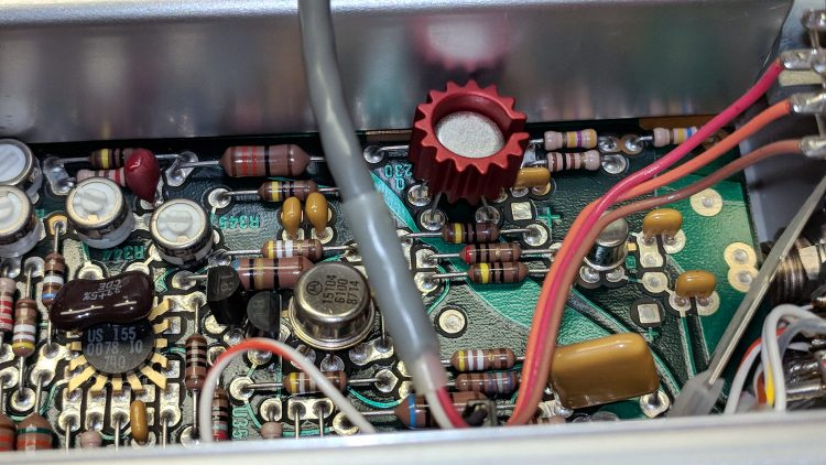 Tek AM503 - Q230 PCB detail