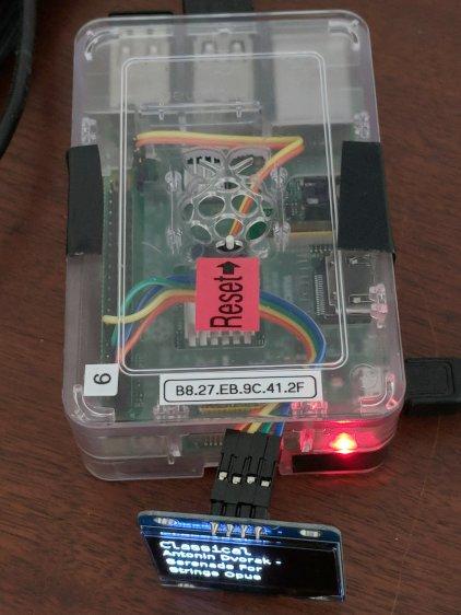 RPi I2C OLED