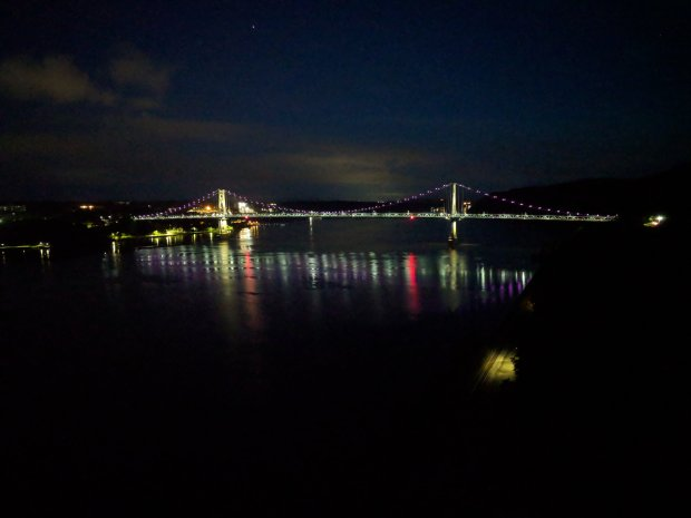 Mid-Hudson Bridge - Moonwalk